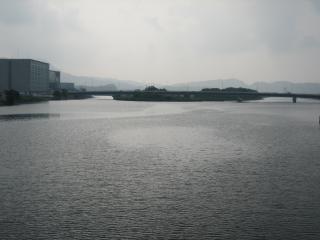 早朝の宍道湖(1)