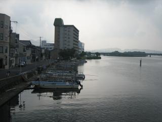 早朝の宍道湖(3)