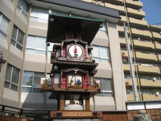 カラクリ時計(1)