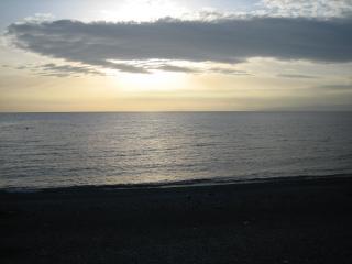 千本松原の海岸