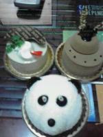 パンダケーキ