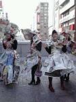 新聞紙服の人②