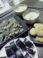晩御飯inサッチ家