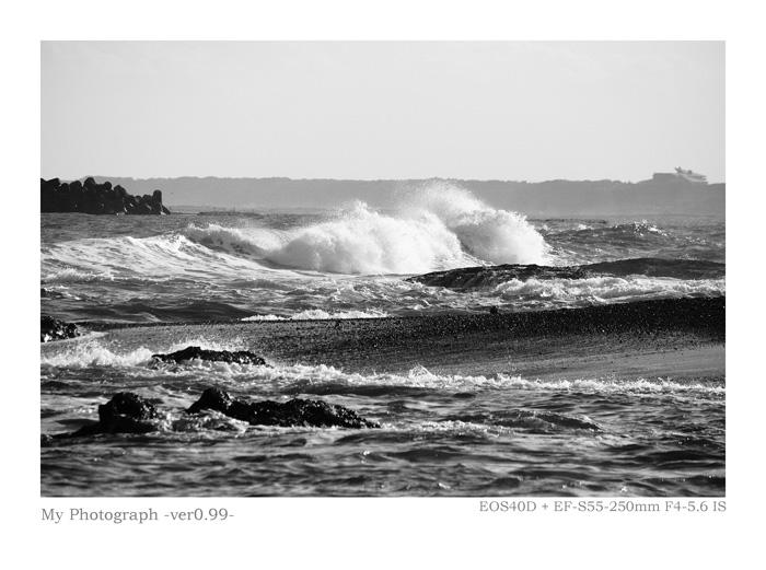 EOS40で撮影した海の写真作品
