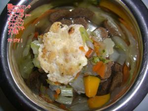 豆腐ハンバーグ。