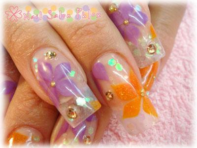 デザスカ 紫橙花