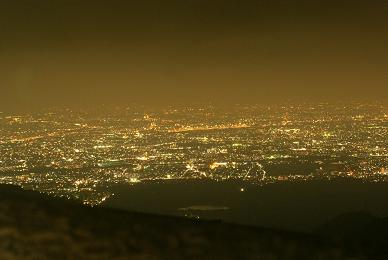 100万ドルの夜景