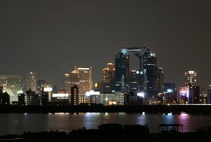 梅田方面夜景