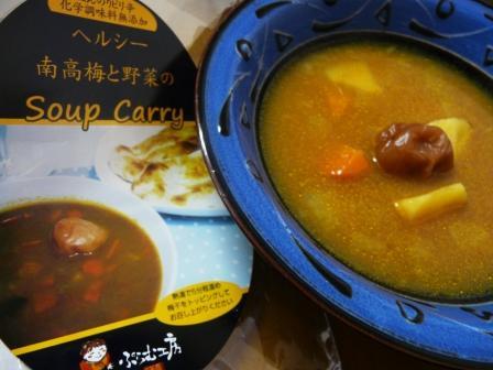 梅いりスープカレー