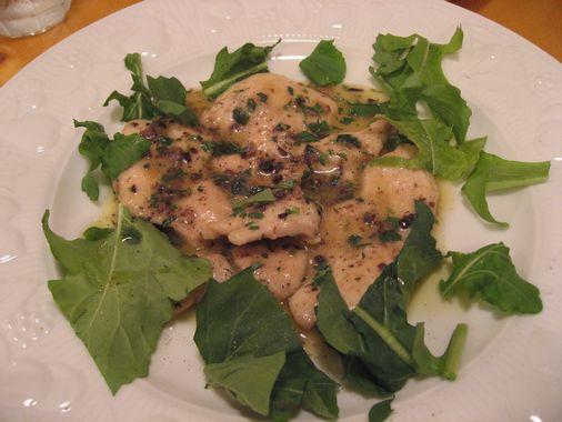 CASARECCIO(チキンのクリーム煮)