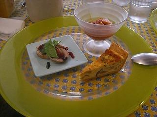 ビストロエメ-前菜3品プレート