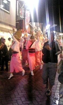 高円寺阿波おどり(2008年8月23日)