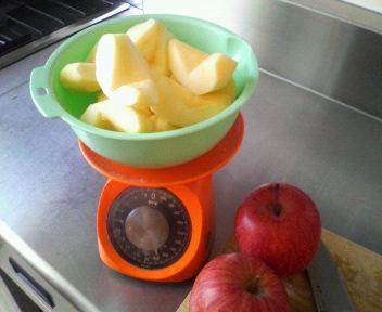 りんごジャム161