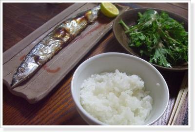 ラスト秋刀魚
