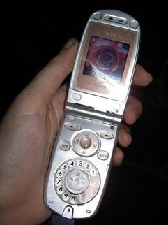 ダイヤル式携帯