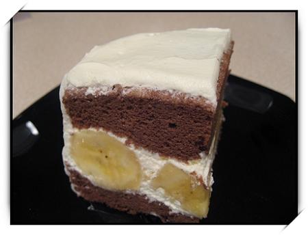 BANANA CHOLOCATE CAKE 0071