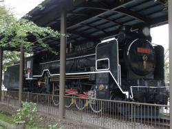 福光公園 蒸気機関車