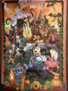 ハロウィンのポストカード