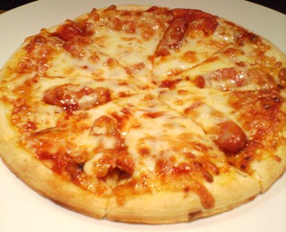 ピザ チョリソー