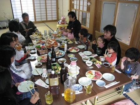 2009 お正月の宴会