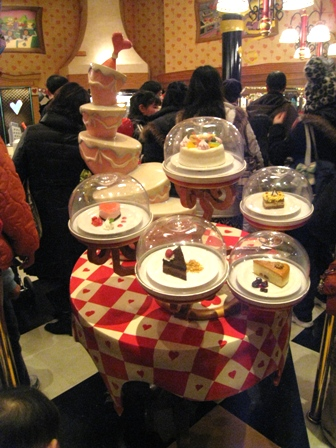 アンバースデイケーキ