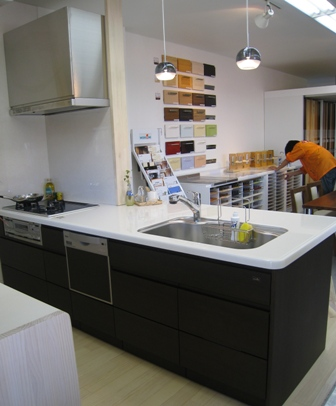 ウッドワン キッチン フラット2