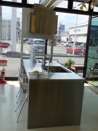 オープンキッチン2 クリナップ