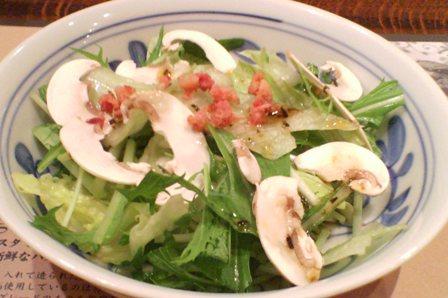鎌倉パスタ サラダ