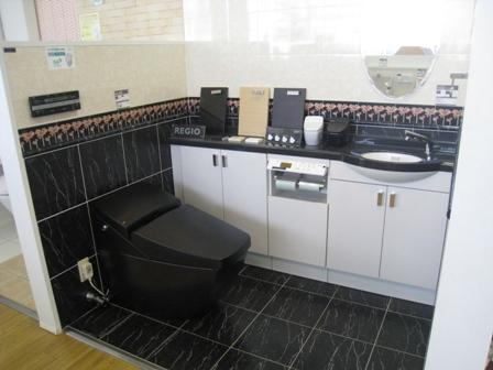 イナックス 黒いトイレ