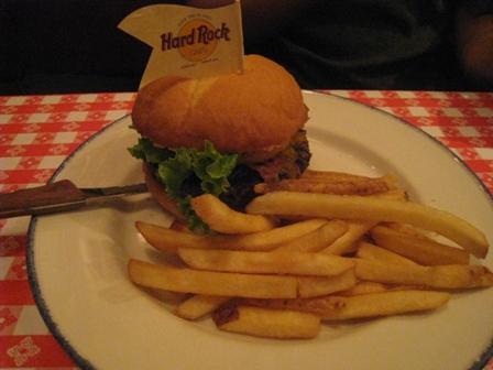 ハードロックカフェ ハンバーガー