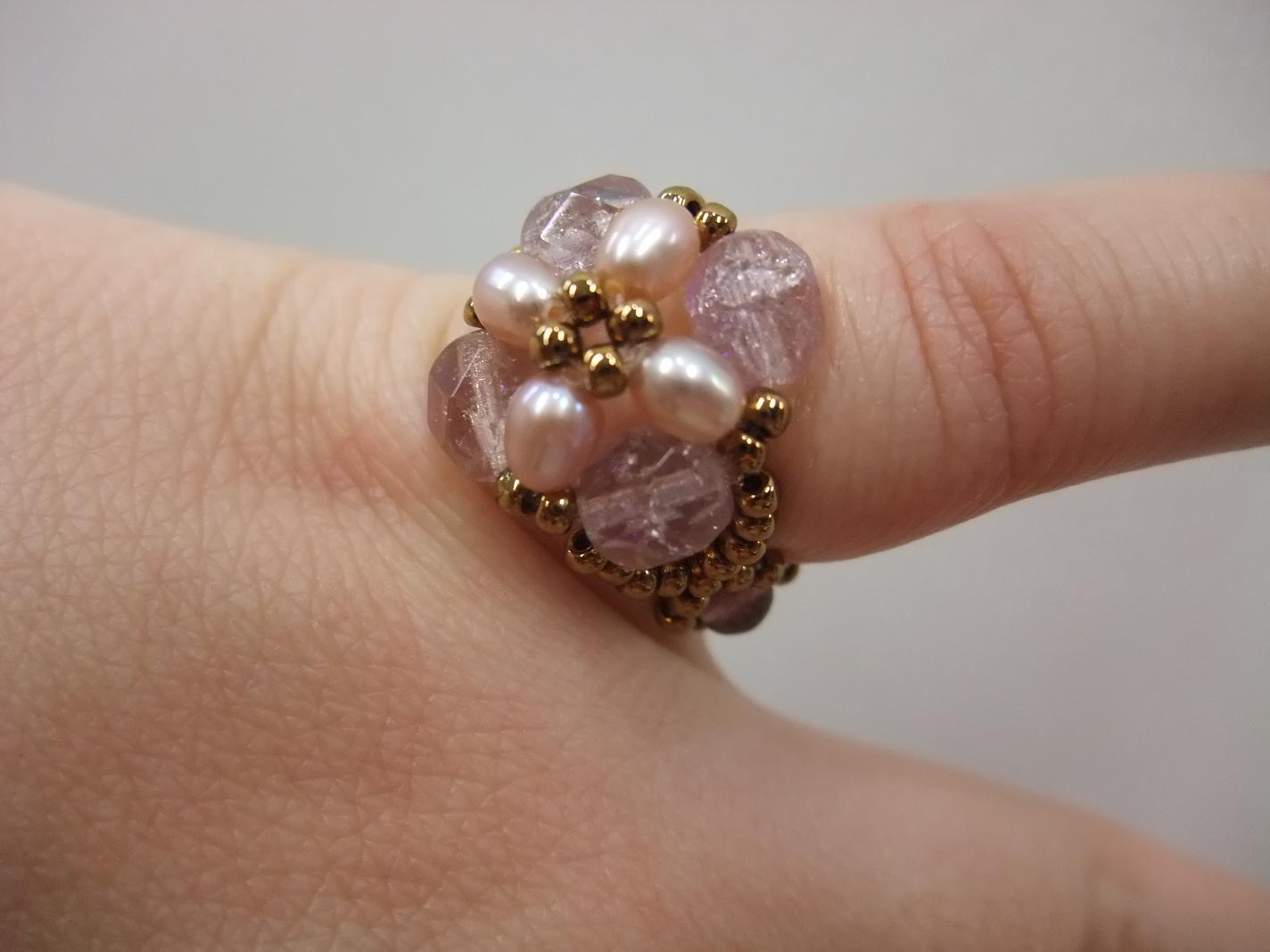 ちほ ロマンチック指輪