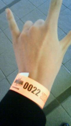 整理券22番