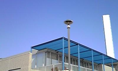 プールの建物
