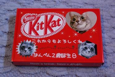 はんさん kitkat