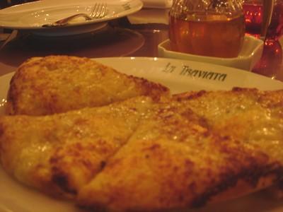 トラビアータ ピザ