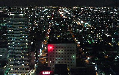 札幌北区夜景