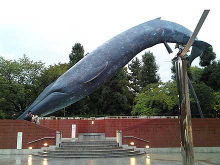 外の巨大鯨
