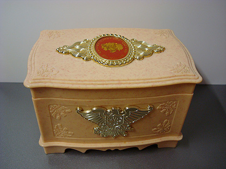 オルゴール宝石箱