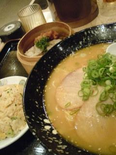 豚骨味噌ラーメンセット
