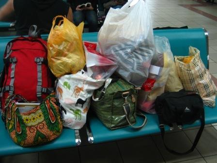 ングラライ空港にて