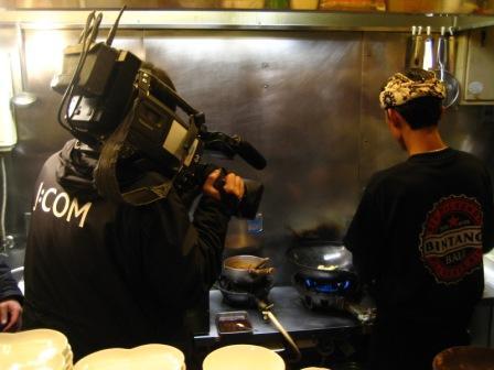TV撮影②