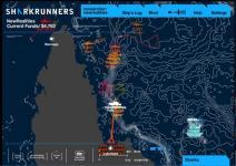 Sharkrunners map