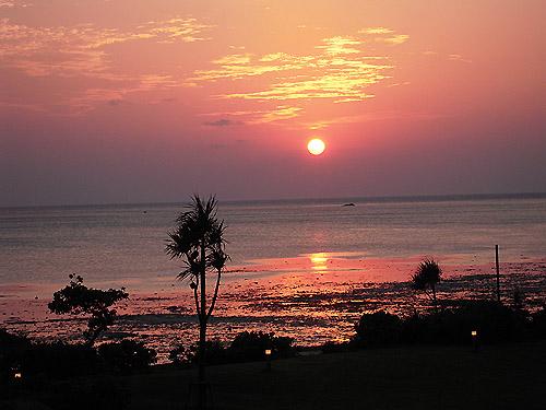 ☆東シナ海の夕日②