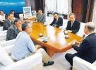 石井隆一富山県知事を表敬訪問