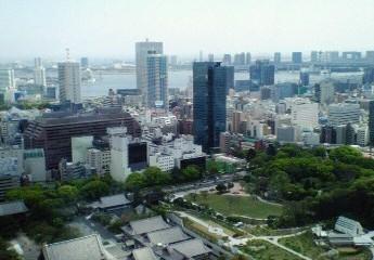東京タワーから眺めるお台場