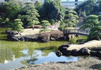 見浜公園 日本庭園
