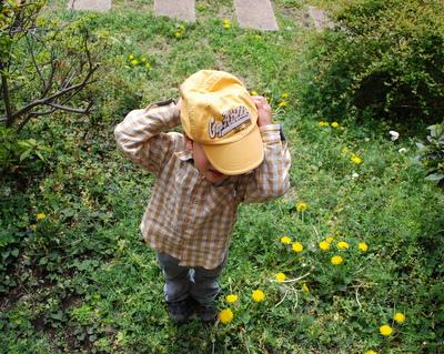 黄色いCAP