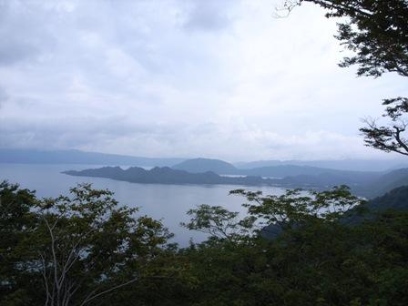十和田湖全景