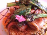 CAFE DE FASCIE (カフェ・ド・フェシエ)~菜の花と小ヤリイカのタブレ