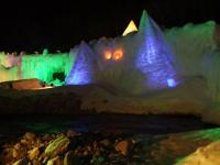 北海道~層雲峡・氷瀑祭